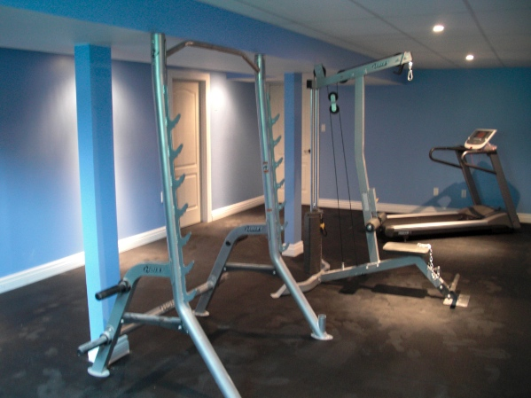 Ottawa Home Renovation Contractor Basement Renovation Gym Kimberly Chen AFTER resize