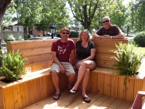 Ottawa Home Renovations Contractor Cedar Deck Shirley Gary Shertzer