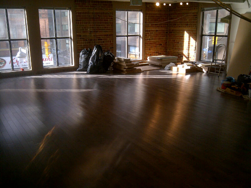 Day 5: Hardwood complete.