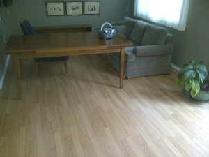 Ottawa Home Renovations Contractor Patricia Kanata Maple Hardwood Flooring Day 1 Before