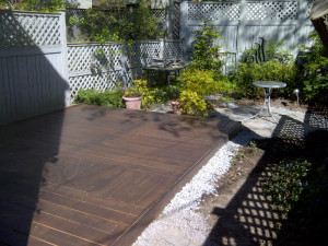Ottawa Home Renovations Contractor Inika deck pattern inlay AFTER