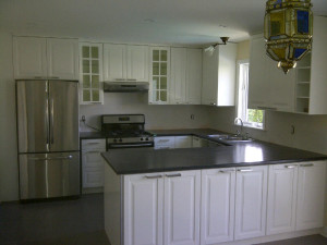 Ottawa home renovations contractor kitchen Stittsville Ed and Kate Day 7 kitchen done