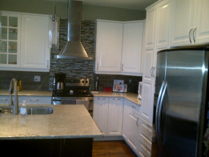 Ottawa home renovation contractor paul gratton mark and lorraine stittsville kitchen after