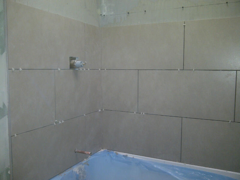 Bathroom Floor Tiles Upstairs : Two bathrooms for susan and colin in vanier fresh reno