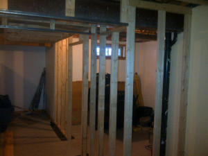 Ottawa renovation contractor Fresh Reno Basement Day 4 storage room
