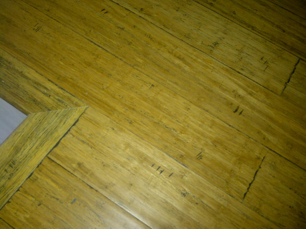 Paul Gratton Ottawa Home Renovation Contractor Day 5 bamboo wood flooring 2
