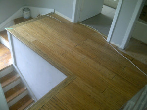 Paul Gratton Ottawa Home Renovation Contractor Day 5 bamboo wood flooring