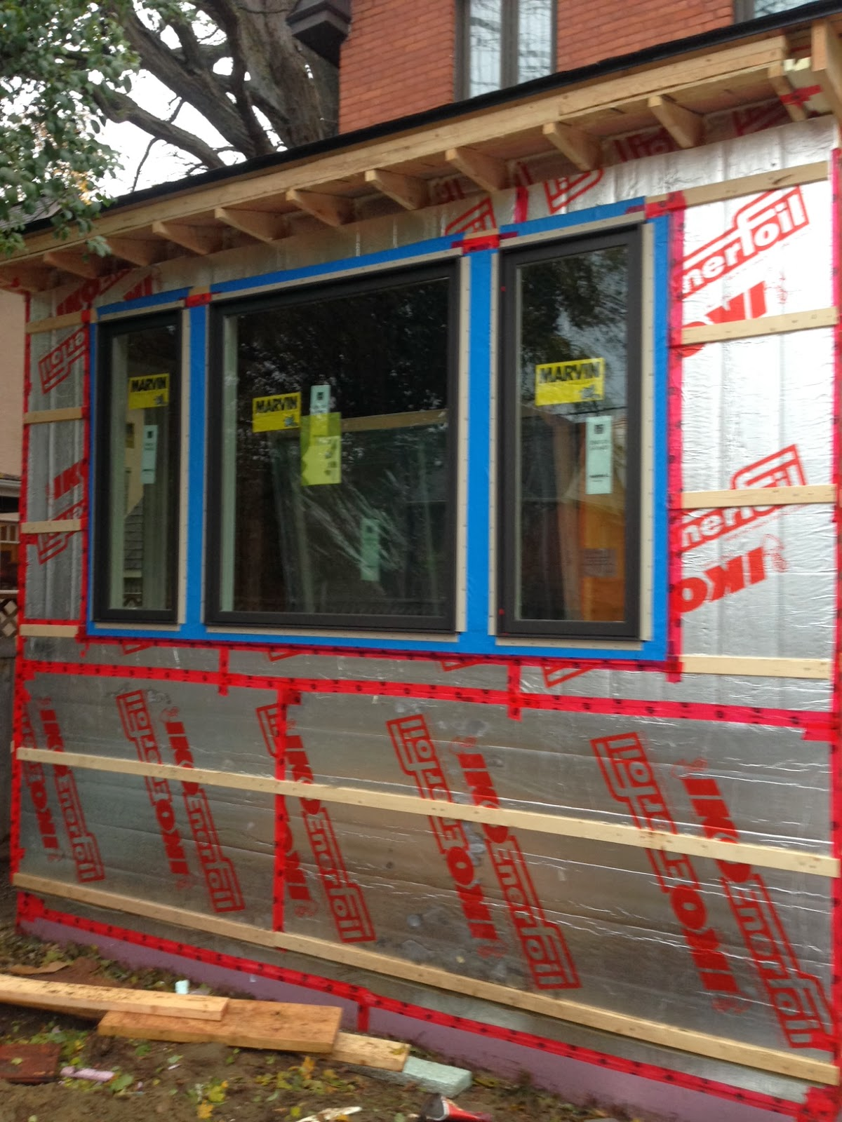 Paul Gratton Ottawa Renovation Contractor Christopher Solar extension Day 24 windows