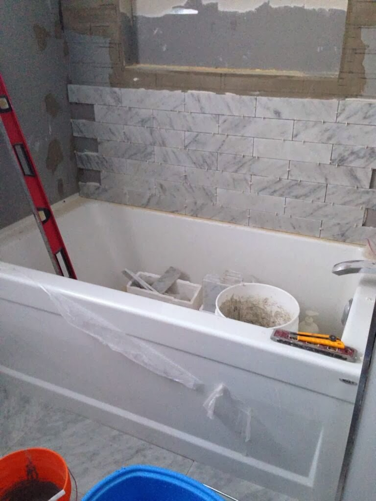 Day 11 Fresh Reno Ottawa Paul Gratton Don McCuaig Bathroom Renovation bathtub tiles
