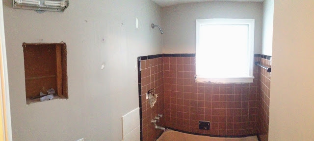 Paul Gratton Ottawa Renovation Contractor bathroom day 1 demolition