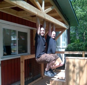 Ottawa Home Renovations Contractor Deck built in seating cedar porch testing crop