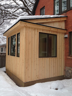 Paul Gratton Ottawa Renovation Contractor Christopher Solar Extension Day 33 exterior