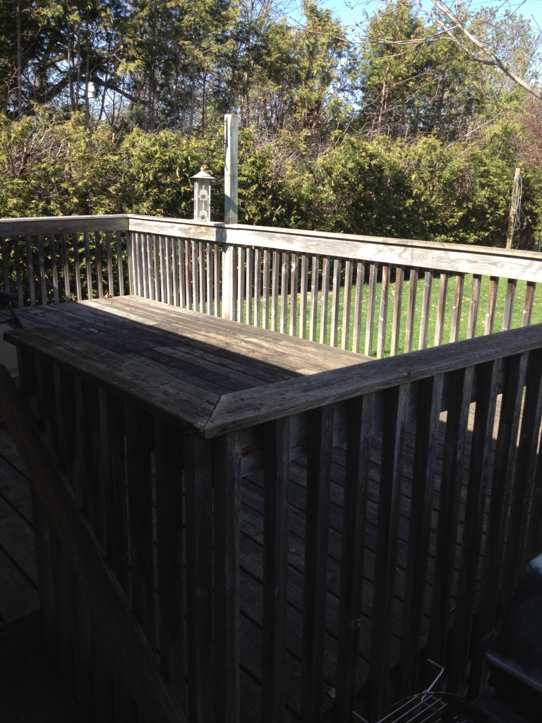 Deck 'before'.