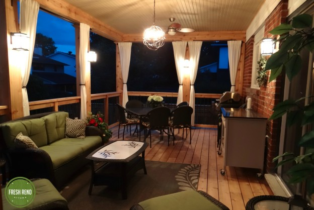 Fresh Reno Ottawa renovation contractor deck veranda night lighting ourdoor room 2000x logo