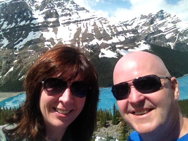 Hi friends, Hope you're having a good week. Heather and I are having a great (and 15 months overdue) honeymoon out west. First vacation in 3 years and worth the wait. Saw a black bear and two cubs in Jasper, hiked 3.7km (400m vertical) to Lake Agnes Teahouse in the sky over Lake Louise and now we're headed into BC. Cheers!