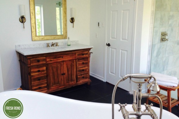 Day 24 Fresh Reno Ottawa renovation contractor Restoration Hardware St James vanity 3-2