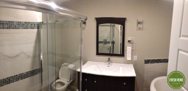 Day 12: Bathroom renovation done!