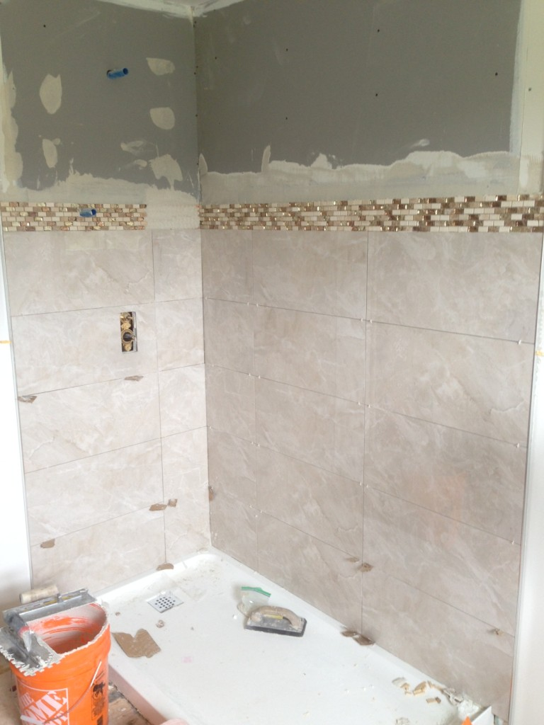 Fresh Reno Ottawa renovation contractor bathroom mosaic tile nepean barrhaven kanata manotick