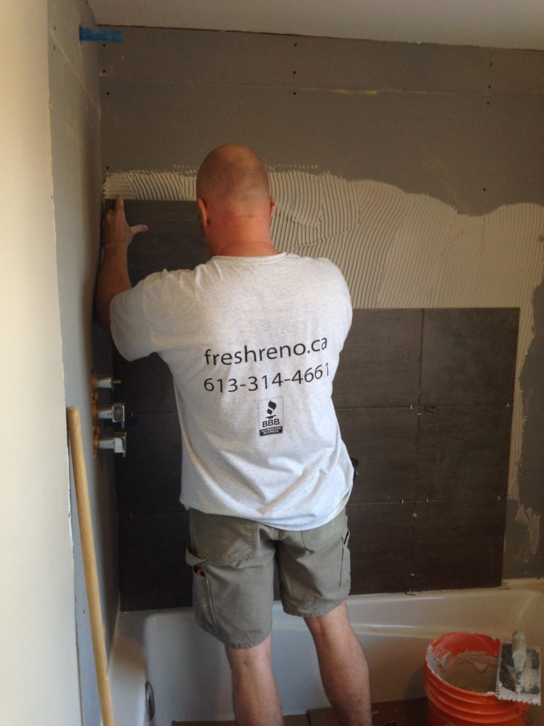 Day 06 Fresh Reno Ottawa renovation contractor bathroom tile nepean kanata barrhaven