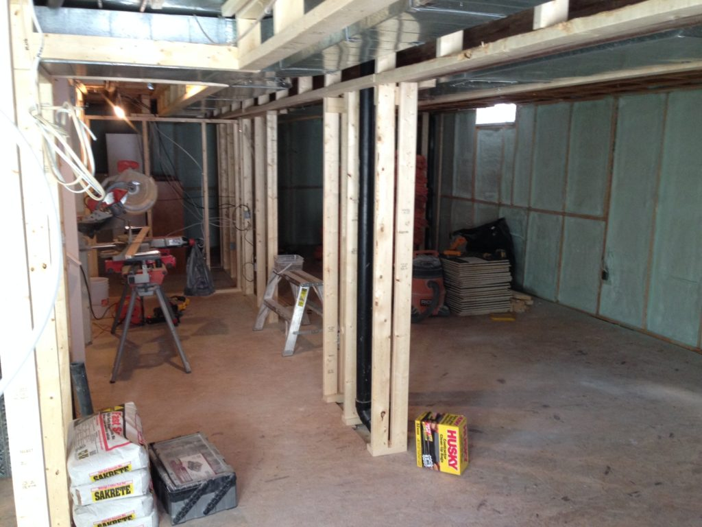 Day 12 Fresh Reno Ottawa renovation contractor manotick kanata nepean spray foam basement insulation