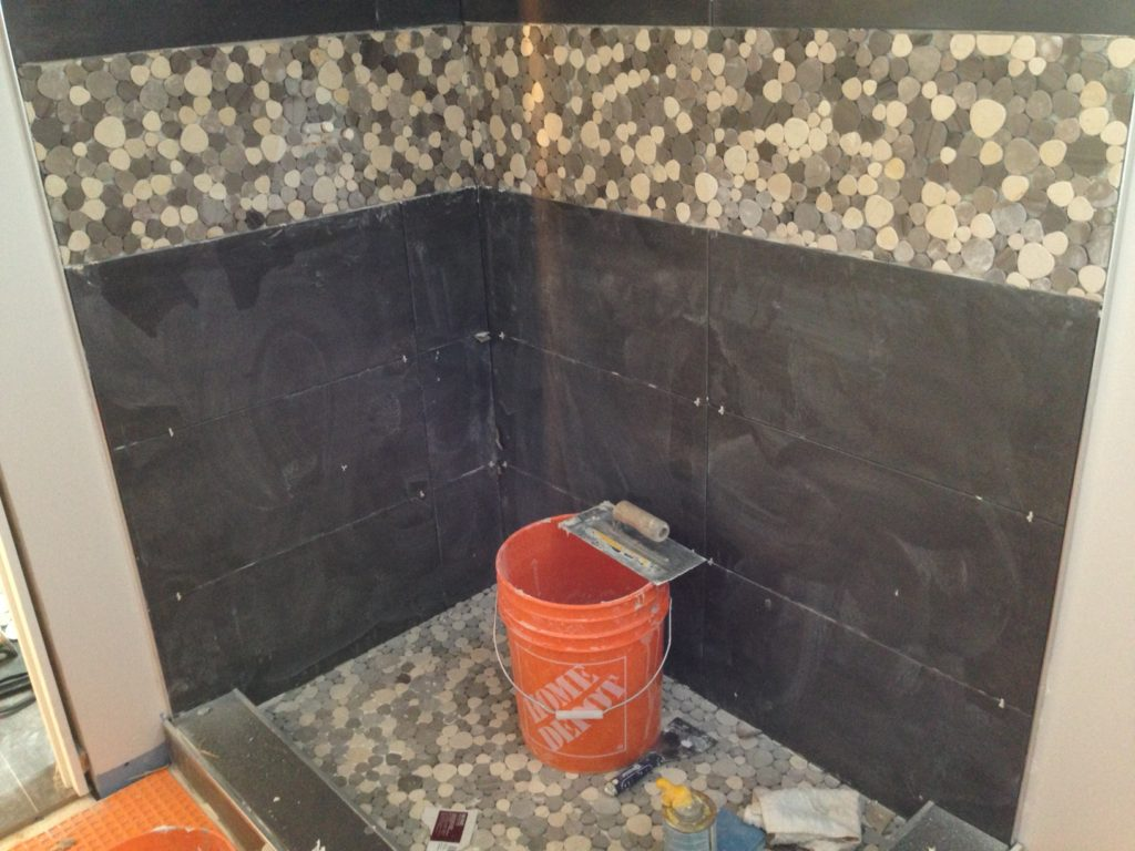 Day 13 Fresh Reno Ottawa renovation contractor shower tile basement nepean barrhaven kanata manotick