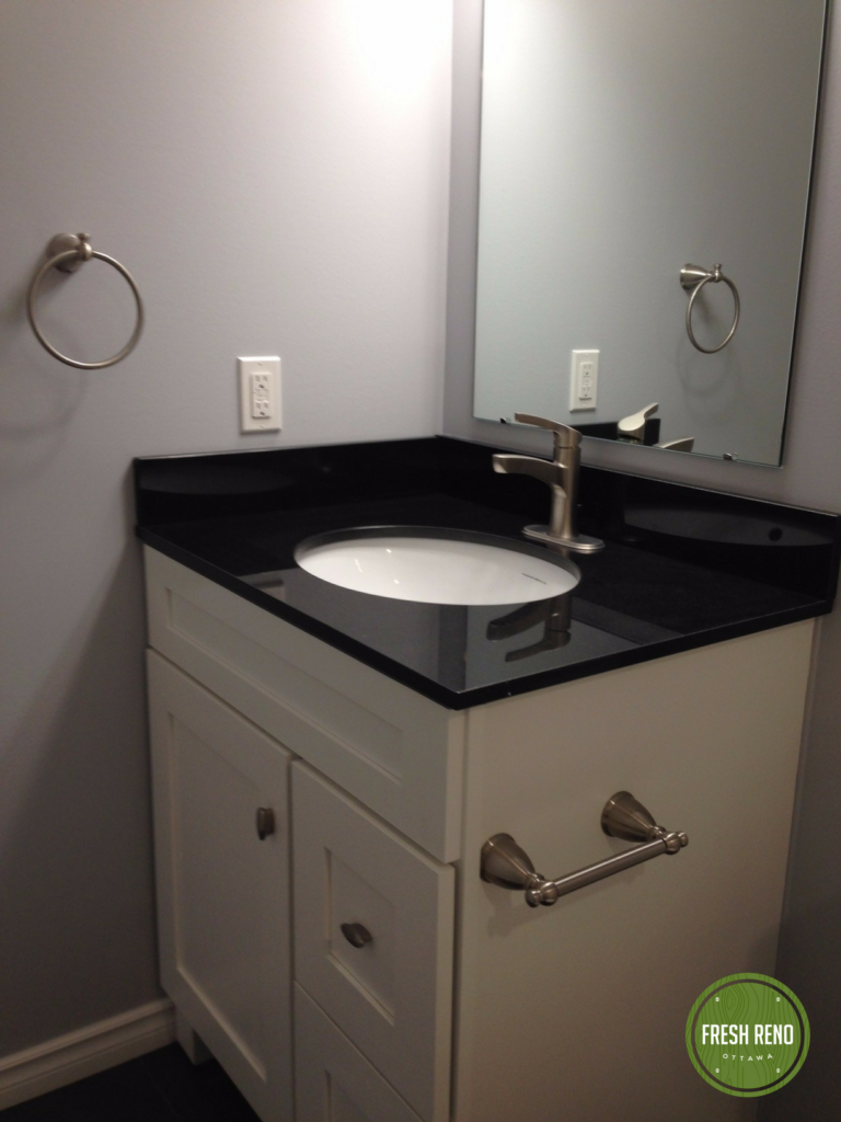Day 37 Fresh Reno Ottawa renovation contractor basement bathroom nepean 1
